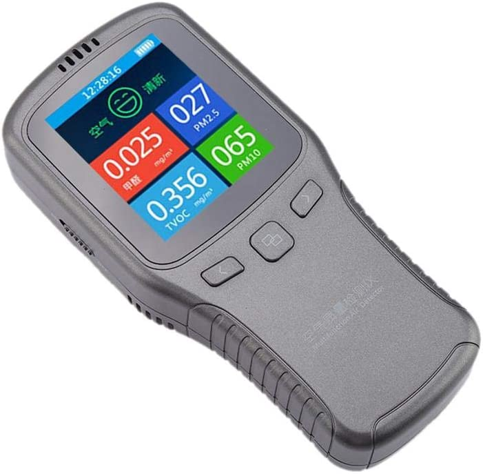 Formaldéhyde numérique CH2O TVOC PM10 pm2.5 Détecteur de gaz de qualité de l/'air