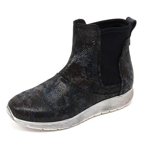 Boot Andia Polaris mimetico Donna Tronchetto Nero Fora B6678 Woman Shoe Basso qw4zppH