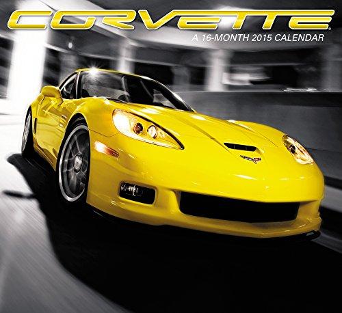 Corvette Wall Calendar (2015) (Antique Car 2015 Calendar)