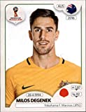 #10: 2018 Panini World Cup Stickers Russia #216 Milos Degenek Soccer Sticker