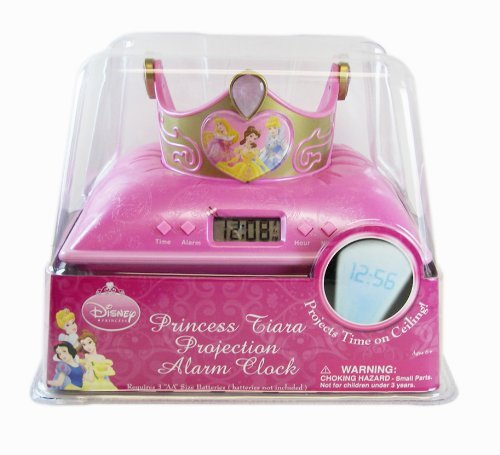 Disney Princess Tiara Projection Alarm ()