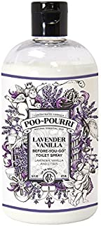 product image for Poo-Pourri Before-You-Go 16 Ounce Refill Bottle, Lavender Vanilla