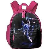 Child Rucksack Students Book Hiphop Dance Backpak School Bookbag Daypack Girls Boys Pink