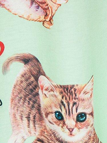 afcdd402997 PERSUN Women s Summer Cute T Shirt Junior Tops Teen Girls Casual Tees