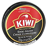 Diversey KIWI Black Shoe Polish, 32 g Tin (144/Carton) - BMC-DVO CB101113