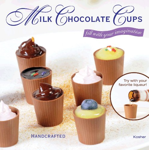 Chocolate Dessert Shells - 64 Milk Chocolate Dessert Cups Certified Kosher-dairy