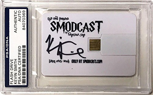 Kevin Smith Signed Podcast Smodcast Silent Bob Signed Auto Card Slabbed - PSA/DNA Certified