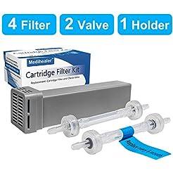 Medihealer Cartridge Filter Kit - 4 Cart...