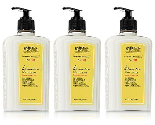 Co Bigelow Lemon - Lot of 3 C.O. Bigelow Lemon Body Lotion 10 Oz.