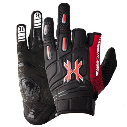 Paintball Clothing Gloves - HK Army Paintball 2014 Pro Gloves (Lava, Large)