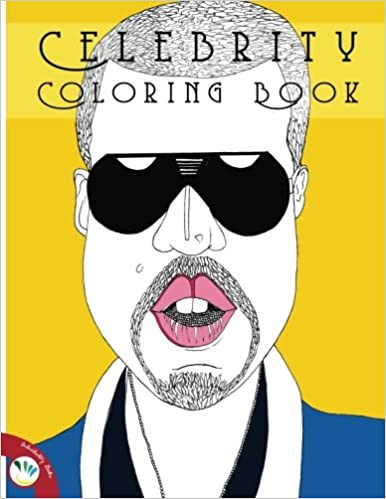 amazoncom celebrity coloring book 9781519766533 individuality books books - Celebrity Coloring Book