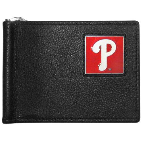 Phillies Philadelphia Leather Baseball (MLB Philadelphia Phillies Leather Bill Clip Wallet)