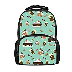 Fashion 3D Drinks Puzzle Printing Backpack Women Travel Laptop Shoulder Felt Daily Backpacks Mochilas Mujer CC5074A