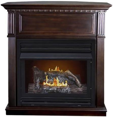 Amazon Com Comfort Glow Kozy World Gas Fireplace Home Kitchen