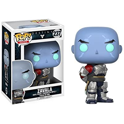 Funko Pop! Games: Destiny - Zavala Action Figure: Funko Pop! Games:: Toys & Games