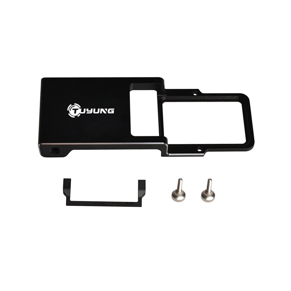 TUYUNG Mount Plate Adapter for DJI Osmo Zhiyun Mobile Gimbal Handheld, Switch Mount Plate Adapter for GoPro Hero 6 5 4 3+ Mobile Handheld Gimbal Accessories