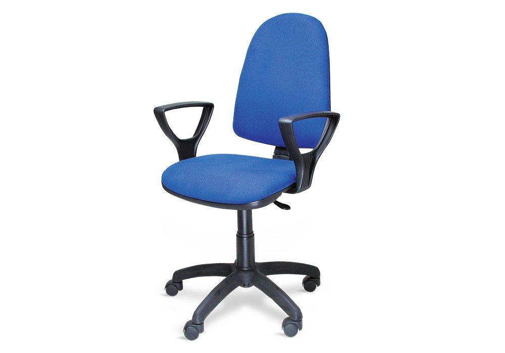 Sedia poltrona ufficio operativa girevole casa studio blu amazon