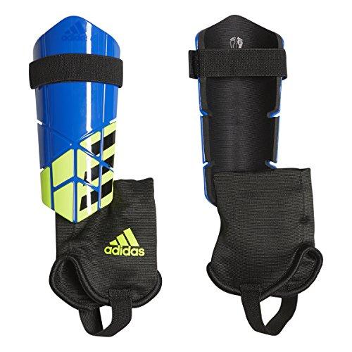 - adidas X Club Shin Guards, Football Blue/White/Black, Small