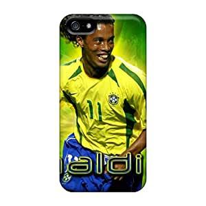 Great Hard Phone Cases For Apple Iphone 5/5s With Custom Vivid Atletico Mineiro Ronaldinho Image InesWeldon