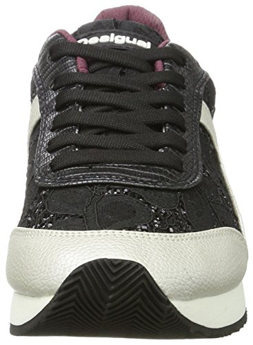 Basse Black Donna Galaxy Negro Desigual Ginnastica Scarpe Shoes Nero da Lace gB0qfw