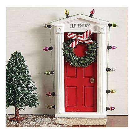 mud pie christmas santa baby kids boy or girl wall decor elf door