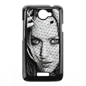 HTC One X Cell Phone Case Black Amanda Seyfried Glamour Girl Face Art Eydsv
