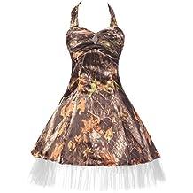 Audrey Bride 2016 Cheap Camo Prom Dresse for Woman Short Formal Party Dresses