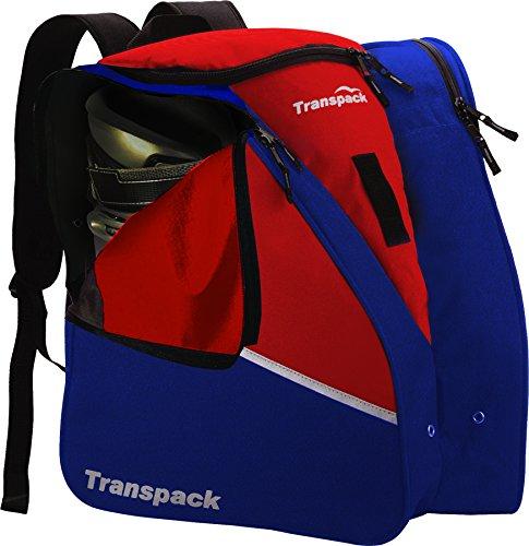 Transpack Edge Boot Bag, Red/Navy