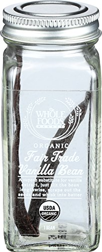 Organic Vanilla Bean - Whole Foods Market, Organic Fair Trade Vanilla Bean, 1 ct