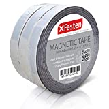 Best Magnetic Tapes - XFasten Flexible Magnetic Tape, 1/2-Inch x 10-Foot, Pack Review