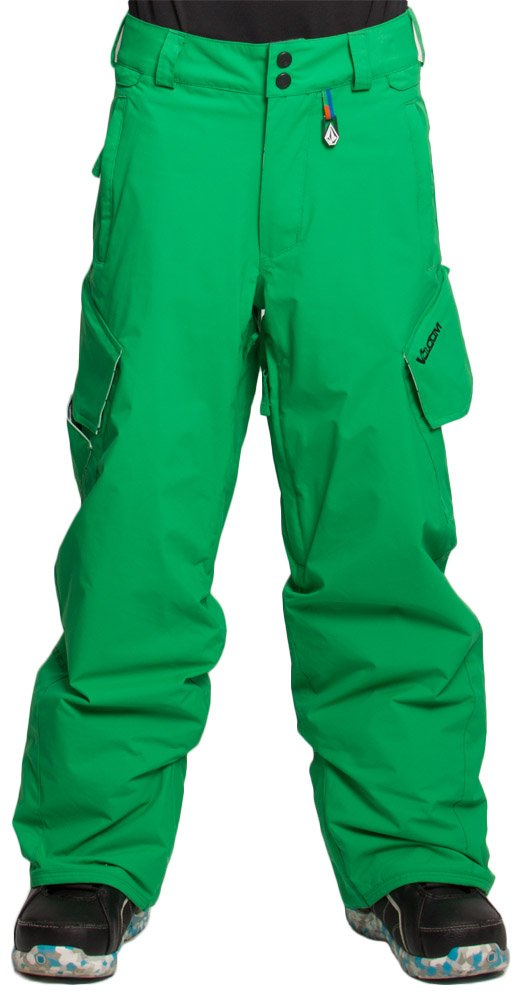 Volcom Boys Tripper Insulated Ski and Snowboard Pants (Large)