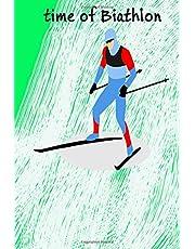 Biathlon: winter sport that combines cross-country skiing