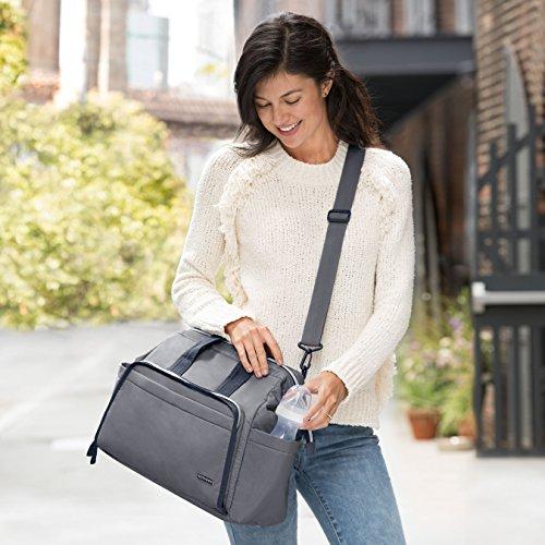 Skip Hop Messenger Diaper Bag, Mainframe Large Capacity