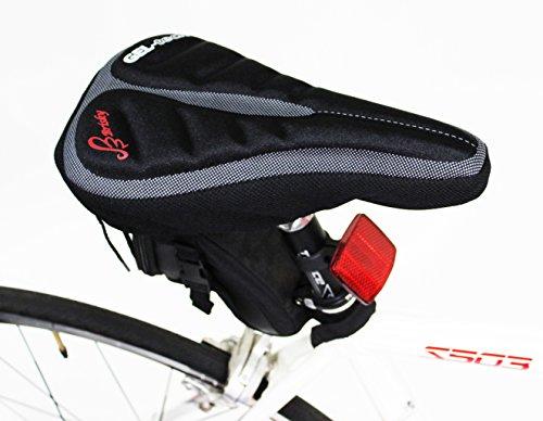Brisky Bike Seat Cover Saddle Cover Soft Gel Cushion