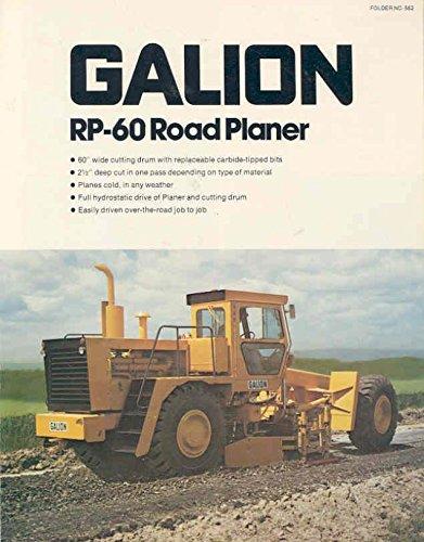 1978-galion-rp60-road-planer-scraper-brochure