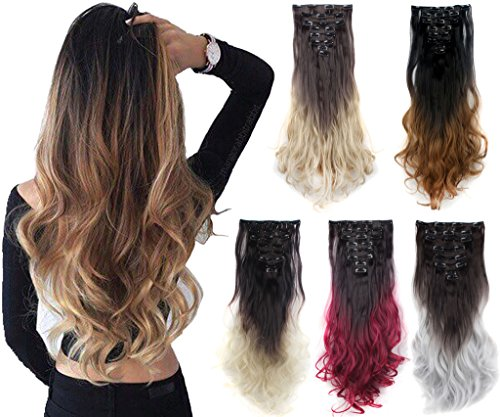 Delivery Synthetic Hairpiece Extensions Colors