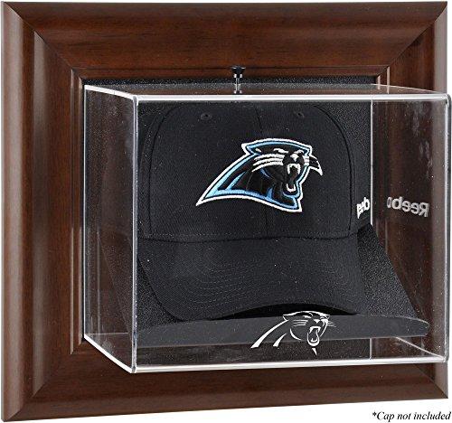(Mounted Memories Carolina Panthers Brown Framed Baseball Cap Case - Carolina Panthers One)