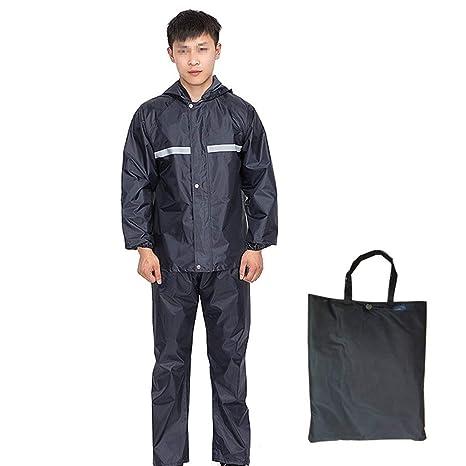 Raincoat Impermeable Pantalón para Lluvia Traje Seguro para ...