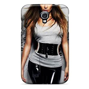 Protective Tpu Case With Fashion Design For Galaxy S4 (jennifer Lopez)