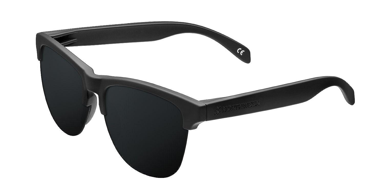 Northweek Gravity All Black - Gafas de Sol para Hombre y Mujer, Negro