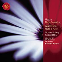 Mozart Concertos for Flute & Harp: Classic Library Series