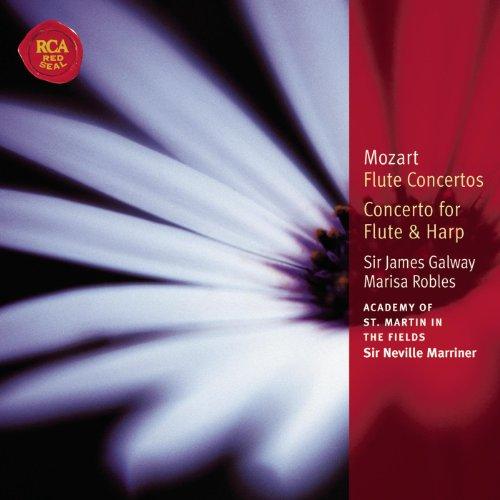 Mozart Concertos for Flute & Harp: Classic Library Series Concerto Flute Harp