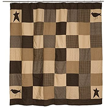 VHC Brands 7188 Kettle Grove Shower Curtain 72 x 72