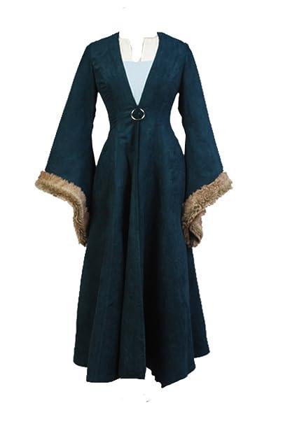Juego de Tronos Catelyn Stark Cosplay disfraz UE tamaño Verde ...