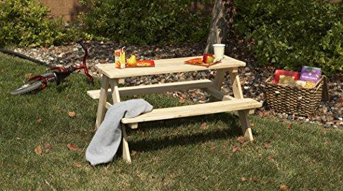 Merry Garden Kids Wooden Picnic Bench - TB0020000010