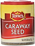 Tone's Mini's Caraway Seed, 0.60 Ounce (Pack of 6)