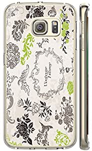 S6 Edge case of TUTU158600 Design Hard Customized case Of galaxy S6 Edge Edge phone cases - Retro vintage frame