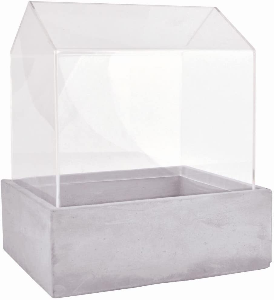Esschert Design AGG30 Green House with Concrete Base, Large