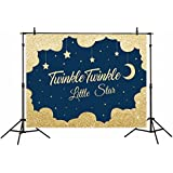 Funnytree vinyl 7x5ft childrens photography backdrop background Golden night twinkle twinkle little star family birthday party banner Newborn Photographic studio prop props photo studio booth