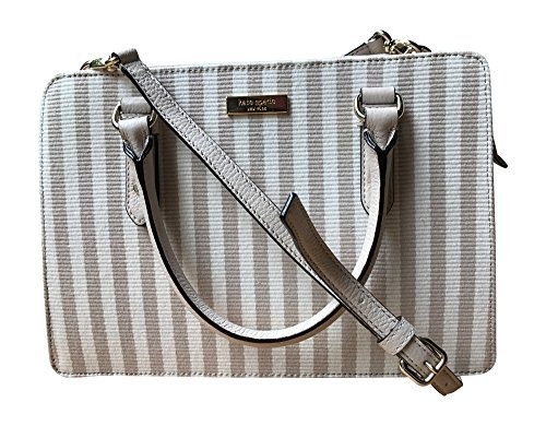 Kate Spade New York Lise Mulberry Street Shoulderbag Handbag, Mulberry Street Fabric, Cotton Ottoman Stripe